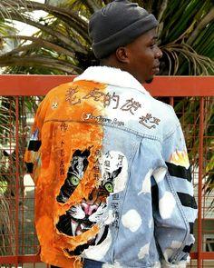 Fashion Line, Denim Fashion, Look Fashion, Urban Fashion, Fashion Outfits, Male Fashion, Custom Clothes, Diy Clothes, Custom Denim Jackets