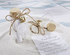 Summer weddings are guaranteed to be fun in the sun. Popular wedding themes include beach and garden. Find summer wedding favors and ideas today! Summer Wedding Favors, Wedding Shower Favors, Unique Wedding Favors, Unique Weddings, Beach Weddings, Beach House Wedding Reception, Wedding Ceremony, Church Weddings, Wedding Souvenir