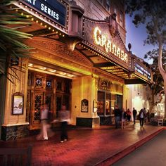 This past weekend, the classic Gershwin musical, Porgy & Bess, came to The Granada Theater. Did you go? If not, the Granada always has amazing shows going on, and there are several excellent restaurants right next door, so you can grab dinner before your show!  #HotelSantaBarbara