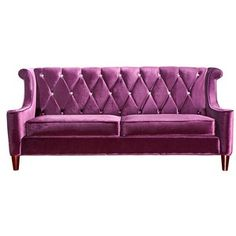 Barrister Velvet Sofa Purple now featured on Fab.