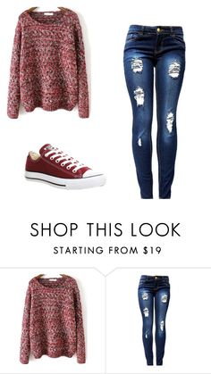 """Untitled #168"" by sierrapalmer10 on Polyvore featuring Converse"