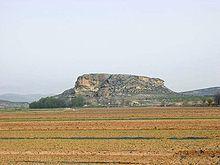 Tolmo de Minateda vigilando todas las rutas desde hace siglos .Hellin Albacete.Spain.
