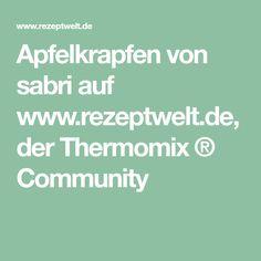 Apfelkrapfen von sabri auf www.rezeptwelt.de, der Thermomix ® Community