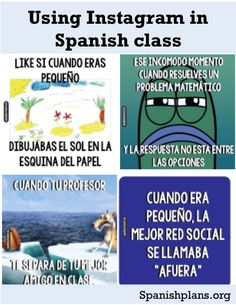 Using Instagram in your Spanish class http://spanishplans.org/2014/06/19/authentic-instagrams/