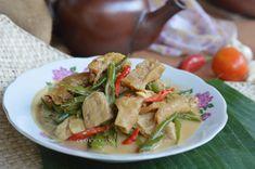 Diah Didi's Kitchen: Sambal Goreng Buncis & Tempe Bumbu Iris