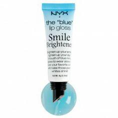 NYX - The Blue Lip Gloss - Smile Brightener