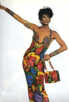 Gianni Versace, 1991 Pop Art collection