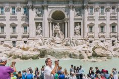 No Swimming! Rome Braces for Summer of Tourists at Its Fountains