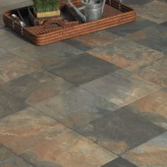 Porcelain Tile - Porcelain Slate Tile Look - Mannington Flooring ...