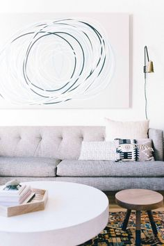 Designed by Florence Lopez, the Paris loft has a modernist design that features the most dazzling vintage furniture. Specialized in top-drawer modernist design, Florence Lope Home Living Room, Living Room Designs, Living Room Decor, Bedroom Designs, Living Room Inspiration, Home Decor Inspiration, Minneapolis Apartment, Fancy Houses, Piece A Vivre
