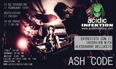 Cold Code – Entrevista com Alessandro Belluccio [membro da banda Ash Code] – 12/02/2016 Virtual Community, Online Web, Cybergoth, Second Life, Indie, Interview, Coding, Music, Sash