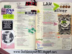 Bible art journal; scripture; faith; bible study; GodblessyourART.blogspot.com