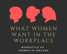 What do Women Want in the Workplace? Job Satisfaction, What Women Want, Work Fashion, Diversity, Workplace, Infographic, Gender, Infographics, Music Genre