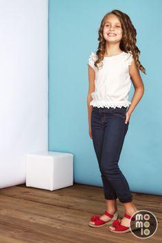 www.momolo.com #modainfantil #fashionkids #moda #niños #kids #momolo #denim #childrensfashion #streetstyle  Look de Conguitos | MOMOLO Street Style Kids :: La primera red social de Moda Infantil