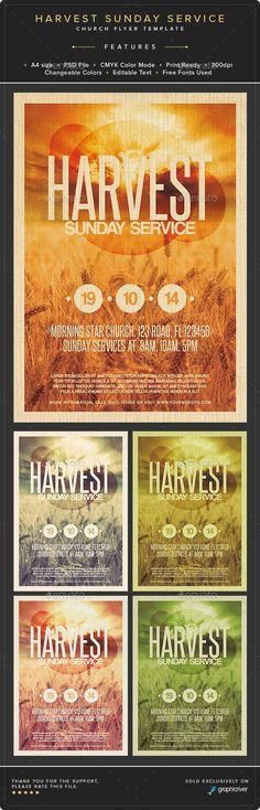 Church Marketing Flyer Template Bundle Vol 046 Marketing flyers - promotional flyer template