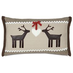 Eastern Accents Nordic Holiday Folk Love Down Lumbar Pillow