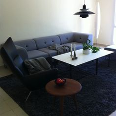The beautiful Nomad Dot modular sofa together with Specta coffee table. Both furniture from A Room Above. Scandinavian design - global attitude. The picture is from an interior assignment made by A Room Above for a Danish family living in Dubai.