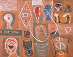 Pinturas de Adolph Gottlieb! | Artes & Humor de Mulher