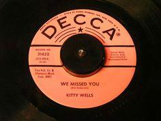 Kitty Wells, top ten from 1962.