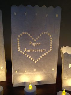 paper anniversary farolito the perfect present for a first wedding anniversary as its made