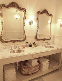 bathroom vanity mirrors for double sink