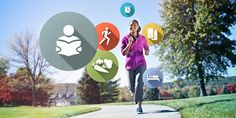 A woman jogs and contemplates good habits she wants to cultivate