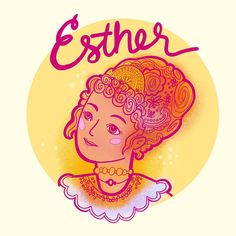 """Little Branches Paper Co on Instagram: """"My favorite book of the Bible, Esther! Day two of #inktober2019 not totally happy with how this one came out but that's not the point!! The…"""" Papers Co, Coming Out, Branches, Bible, Christian, My Favorite Things, Day, Illustration, Books"""