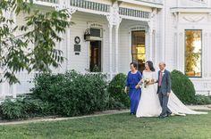 Michelle <3 Graham  |  Barr Mansion and Artisan Ballroom  |  www.barrmansion.com  |  Francis Joseph Photography  |  www.francisjosephphotos.com  |  Austin, TX  |  wedding sign victorian southern garden bride and parents