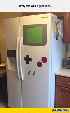 And Now I Want This Fridge