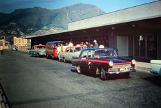 -- taxi rank at Kai Tak Airport, Hong Kong. Kai Tak Airport, China Hong Kong, Old Pictures, Taxi, Explore, History, Beautiful, 1960s, Nostalgia