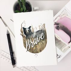 Creative Watercolor Lettering Quotes by June Digan