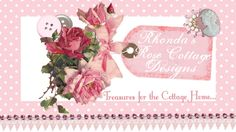 Visit Rhondas Rose Cottage Designs for fabulous handmade paper roses, faux cupcakes,truffles more
