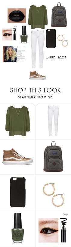 """""""Love Life"""" by malaysiasmith21 on Polyvore featuring beauty, WearAll, rag & bone, Vans, JanSport, Rick Owens, Nordstrom and OPI"""