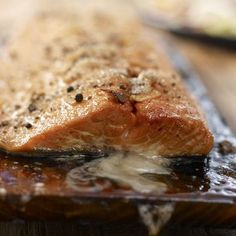 I'm checking out a delicious recipe for Cedar Plank Grilled Salmon from Kroger!