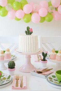 Fiesta temática para niños de cactus: ideas para decorar un cumpleaños | Fiestas y Cumples
