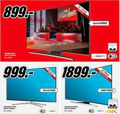 Oferta de TV Curvo desde 899€ Media Markt 11-2014