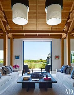 Design team Ashe + Leandro create a rustic-chic home on Martha's Vineyard.
