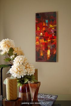 Canvas Art Print  Fine Art Giclee from Oil by BarronCreative, $64.99