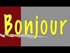 Learning french for children ( song Bonjour et merci ) Learning French For Kids, French Language Learning, Ways Of Learning, Teaching French, Learning Games, Spanish Language, Learning Spanish, Preschool Music, Teaching Music