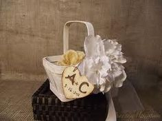 tag for flower girl basket