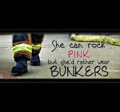 Female firefighters(: