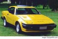 Triumph TR7.  Is that Tim Long????????