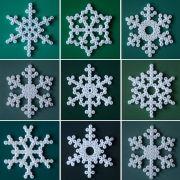 Fiocchi di neve Pyssla