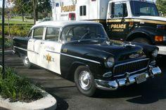 '55 Chevy Police Car
