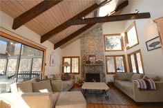 Spacious, sun-filled living room with wood burning fireplace. Ready for getting cozy! Orleans, Cape Cod