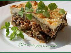 Recette Plat : Moussaka à la menthe par Binôme Gourmand