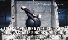 He makes everything look amazing, even Miley Cirus!