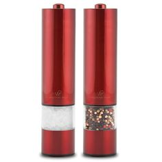 Wolfgang Puck Kitchen Salt and Pepper Mills Battery Operated Seasoning Grinders  #WolfgangPuckKitchenShakers