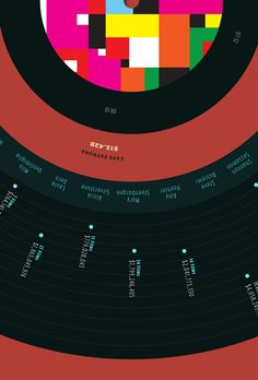 Infographic - Fight For Your Right Revisited by Brian Waddington, via Behance