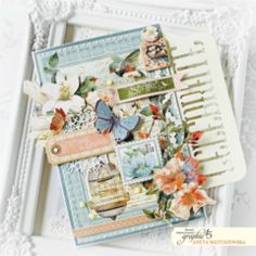 Artisant: Celebrate Spring with Spring Projects, Hello Dear, Graphic 45, Embossing Folder, Flower Cards, Scrapbooks, Vibrant Colors, Decorative Boxes, Card Making